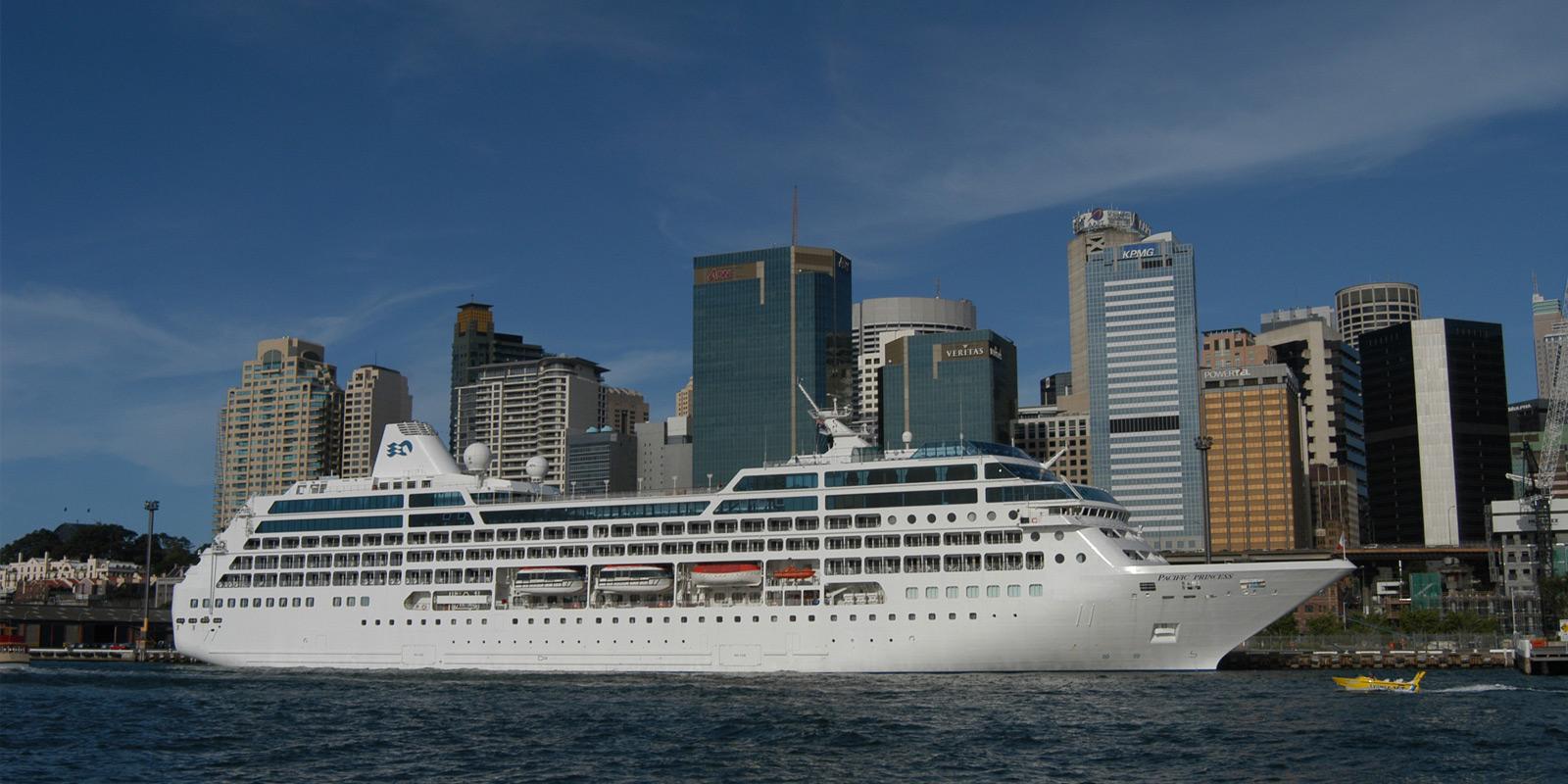 Kryssningsfartyget Princess Pacific