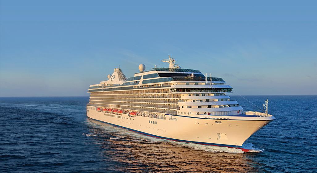 Kryssningsfartyget Oceania Marina