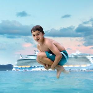Oasis-fartyg Royal Caribbean