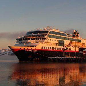 MS Trollfjord Hurtigruten Foto: Matthias Tamm