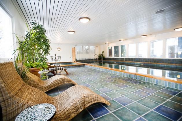 Orbaden Spa & Resort i Hälsingland, Sverige.