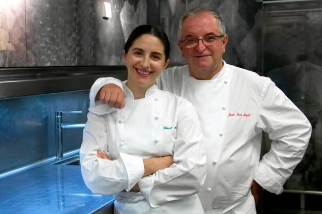 Juan Marí och Elena Arzak driver Michelinkrogen Arzak.