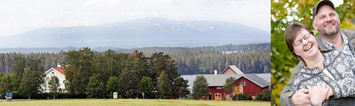 Brunkulla gård i Jämtland