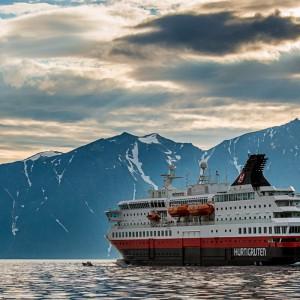 Kryssningsfartyget MS Nordnorge
