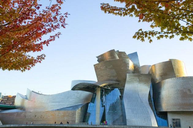Guggenheimmuseet Bilbao, Spanien.