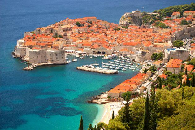 Gamla stan i Dubrovnik, Kroatien