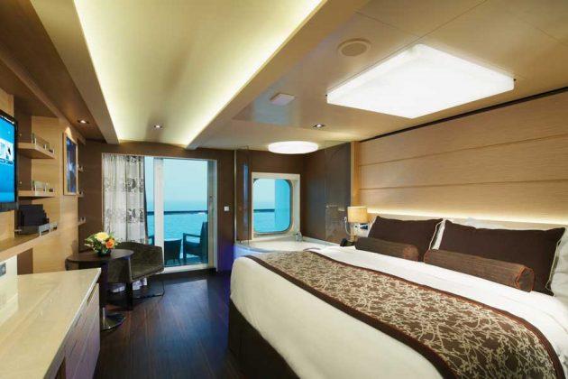 NCL Breakaway The Haven Spa Suite
