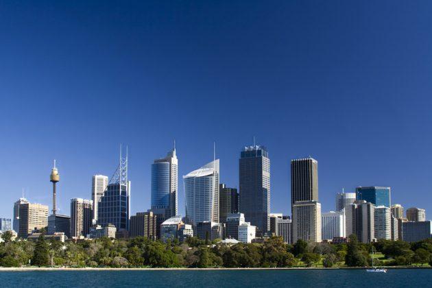 Sydney skyline dagtid.