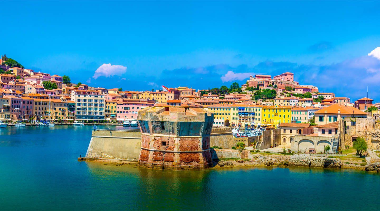 Elba Italien Stad