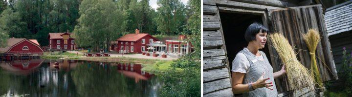 Växbo kvarn i Hälsingland, Sverige.