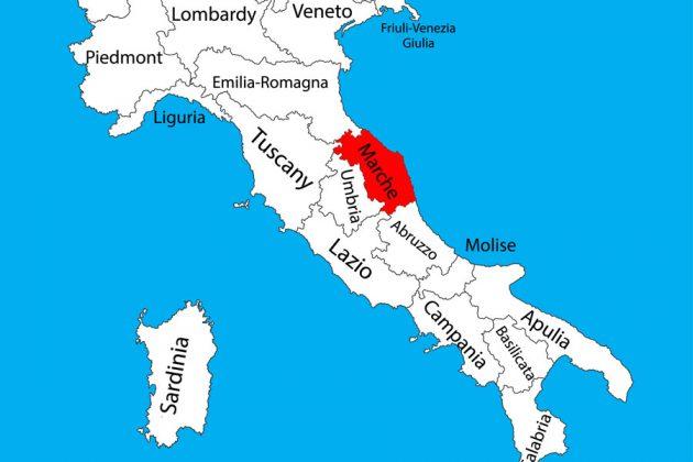 Marche i Italien