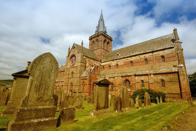 Skottland Kirkwall St Magnus Cathedral