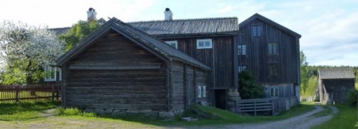 Ystergårn Hillsta i Hälsingland, Sverige.