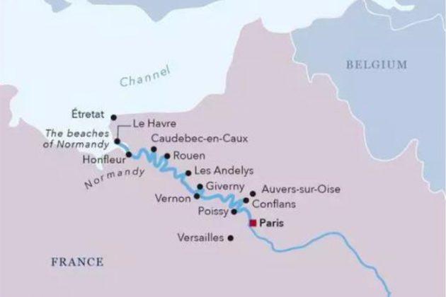 Seine-karta