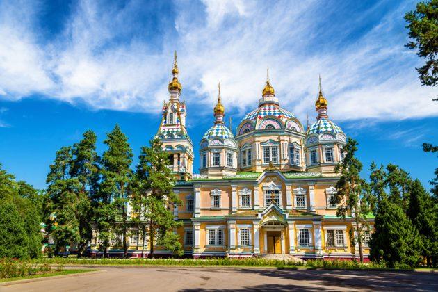 Ascension Cathedral i Almaty, Kazakstan