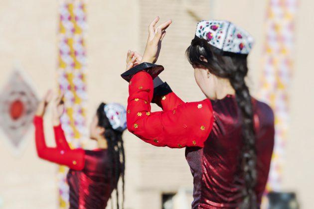 Folkdans i Khiva, Uzbekistan