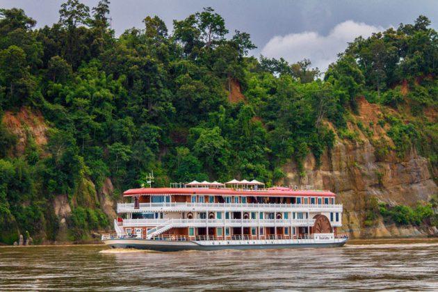Heritage Lines fartyg Anawrahta.