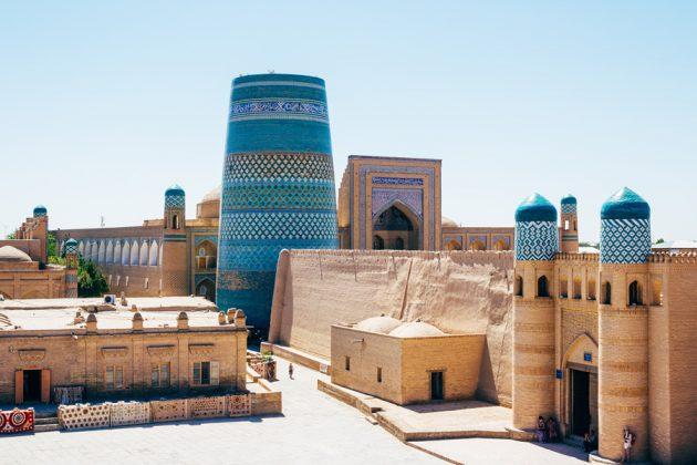 Itchan Kala i Khiva, Uzbekistan