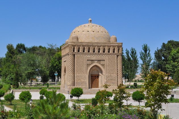 Samanid mausoleum Bukhara, Uzbekistan